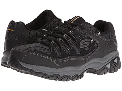 SKECHERS Afterburn M. Fit (Black) Men