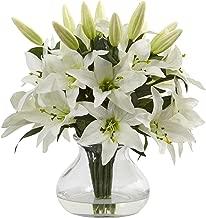 Best silk lily arrangements Reviews