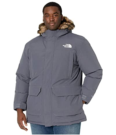 The North Face Big Tall Mcmurdo Parka (Vanadis Grey) Men