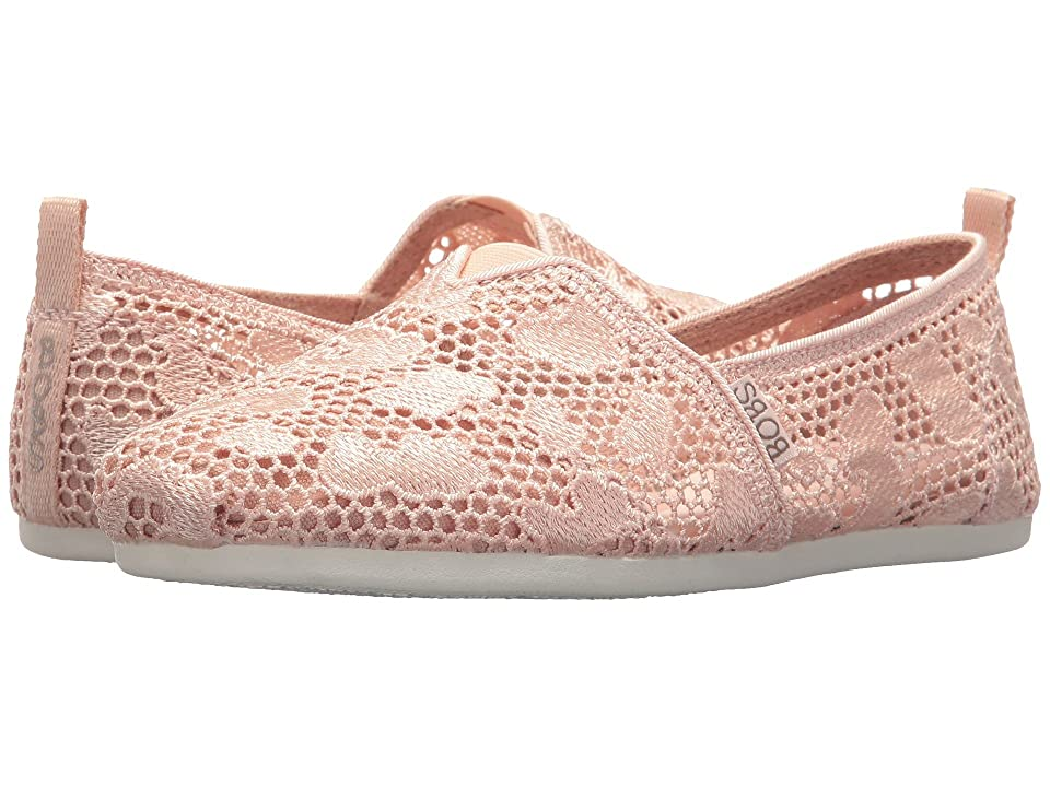 BOBS from SKECHERS Bobs Plush Summer Cool (Light Pink) Women