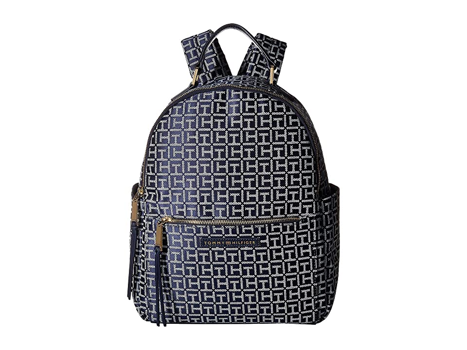 Tommy Hilfiger Althea Backpack (Navy/White) Backpack Bags