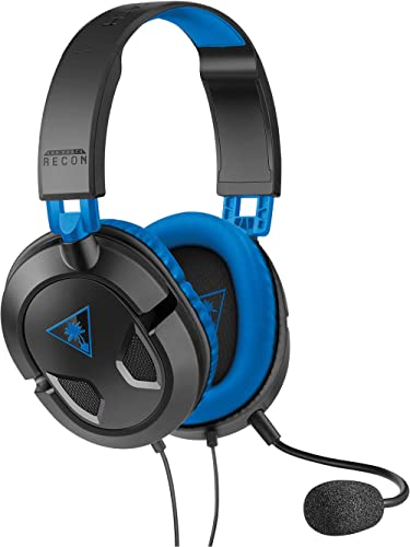 Turtle Beach - Ear Force Recon 60P Amplified Stereo Gaming Headset – PS4, Xbox One (Compatible w/ Xbox One Controller...
