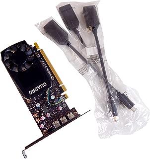 HP Nvidia Quadro P400 2GB PCIe Video Card 919985-001 w/miniDP to DP adapter Cbl