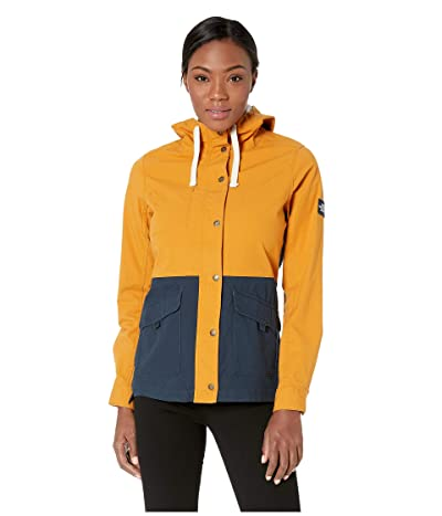 The North Face Ridgeside Utility Jacket (Citrine Yellow/Urban Navy) Women