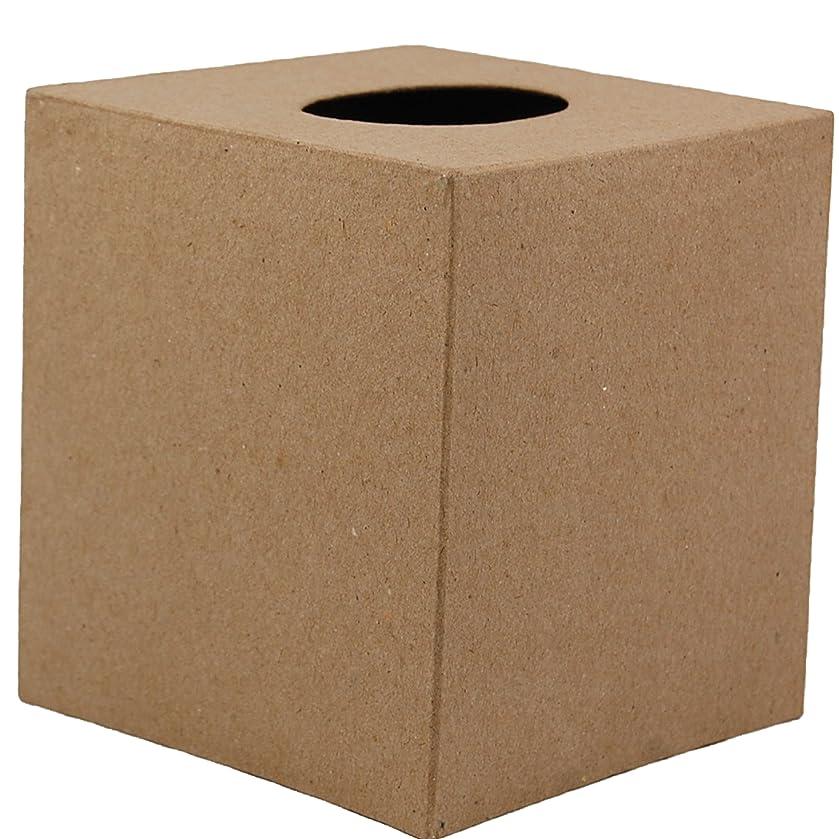 Country Love Crafts Square Tissue Box Cover Papier Mache