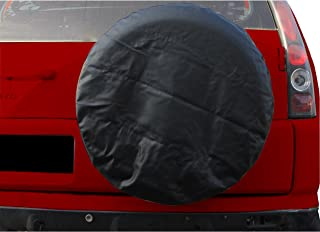 14 15 16 17 Canada Flag Canadian Maple Leaf Spare Tire Cover Dust-Proof Waterproof Wheel Covers Sunscreen Corrosion Protection for Trailer Rv SUV Truck Camper Travel
