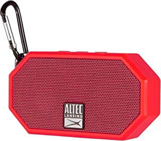 Altec Lansing IMW258 Mini H2O 3 Portable Bluetooth Waterproof Speaker (Red)