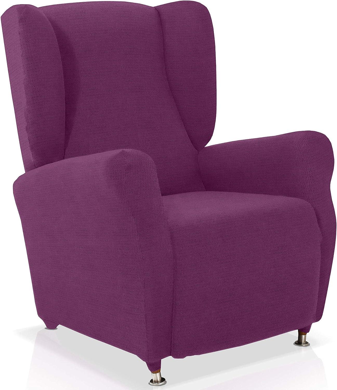 Husse für Ohrensessel Minerva Grösse 1 Sitzer, Sitzer, Sitzer, Standardgröss Farbe Malve (mehrere Farben verfügbar) B015WN7N0E 647bbe