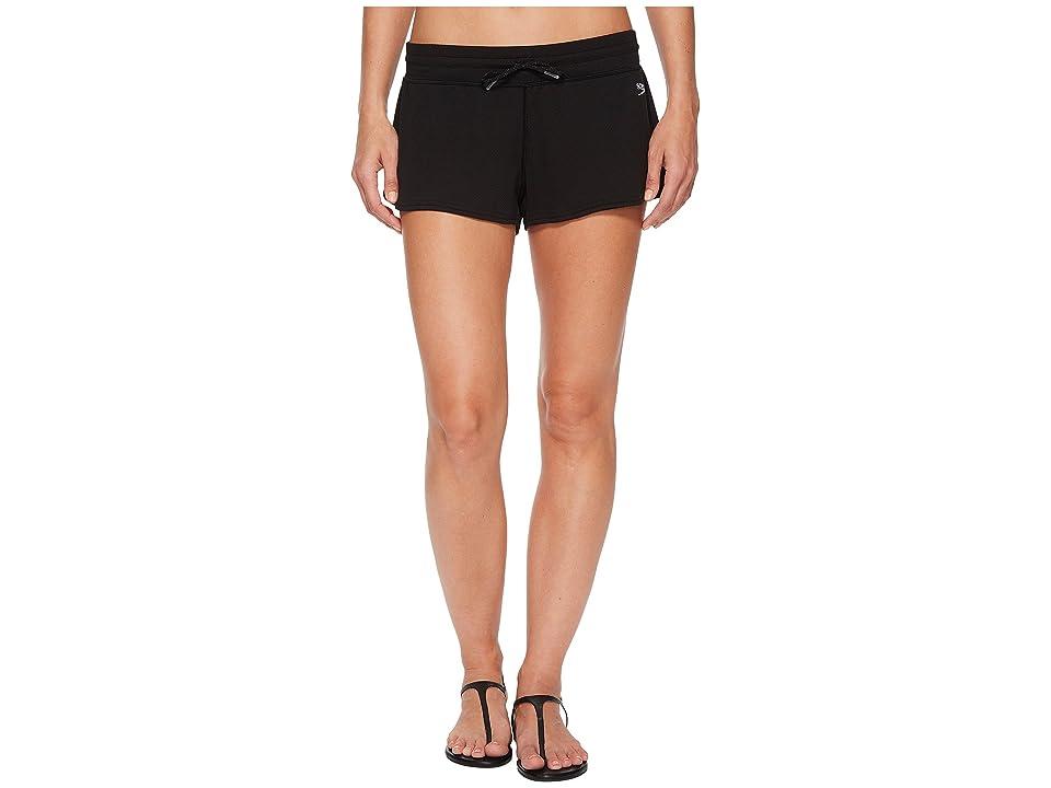 Speedo Cover-Up Shorts (Speedo Black) Women