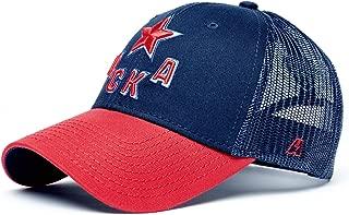 Atributika & Club HC CSKA Moscow KHL Trucker hat, Dark Blue/red