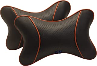 Autofurnish Premium Car Pillow Neck Rest (Hecta-6740) - Set of Two
