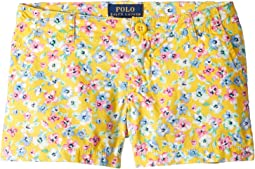 Floral Poplin Shorts (Toddler)