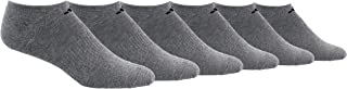 Men's No Show Athletic Socks 6-pack