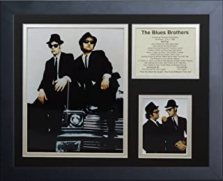 Legends Never Die The Blues Brothers Framed Photo Collage, 11x14-Inch