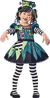 Monster Miss Halloween Costume for Toddler Girls, Includes Headband