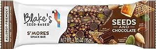 Blake's Seed Based Bar, S'mores, Nut Free, Gluten Free, Vegan, Dairy Free, Sesame Free, Soy Free, Egg Free, Non GMO, 1.23oz (12 Bars)