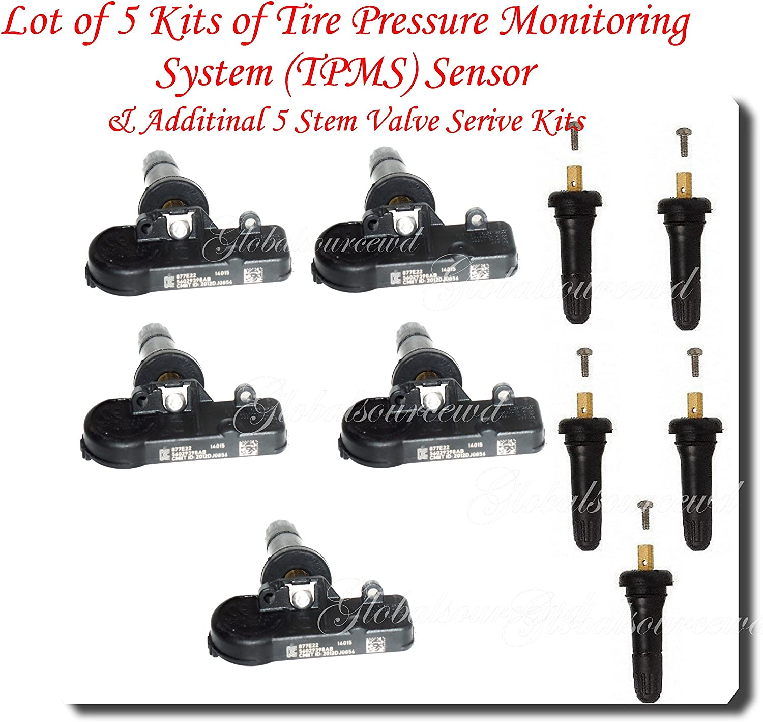 Schrader Set of trend rank 5 TPMS Tire Pressure SENSORS Free Shipping Cheap Bargain Gift TIRE