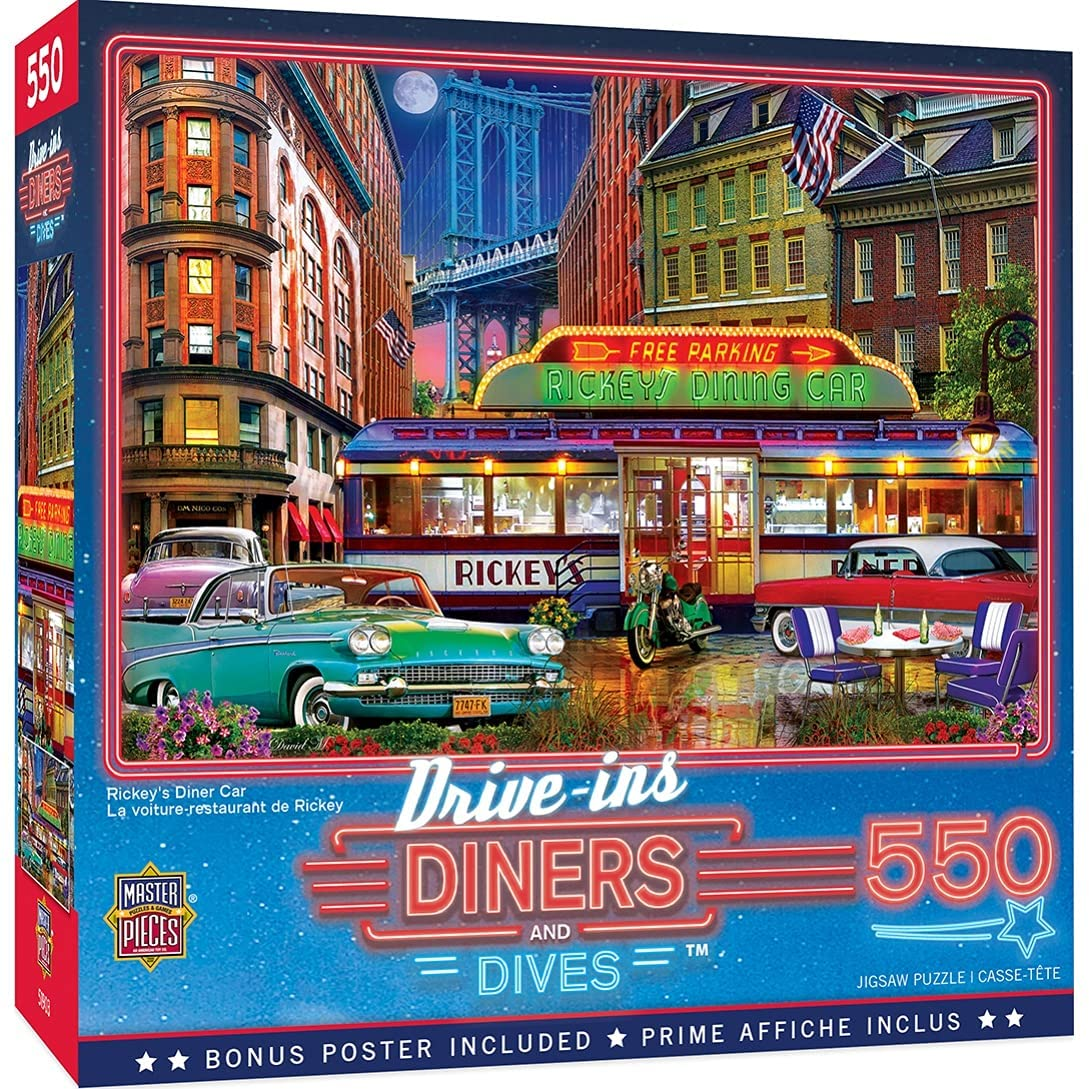 550 Piece Jigsaw Puzzle for Adult Kids Rickey'S Manufacturer OFFicial shop Or Family Oklahoma City Mall Di -