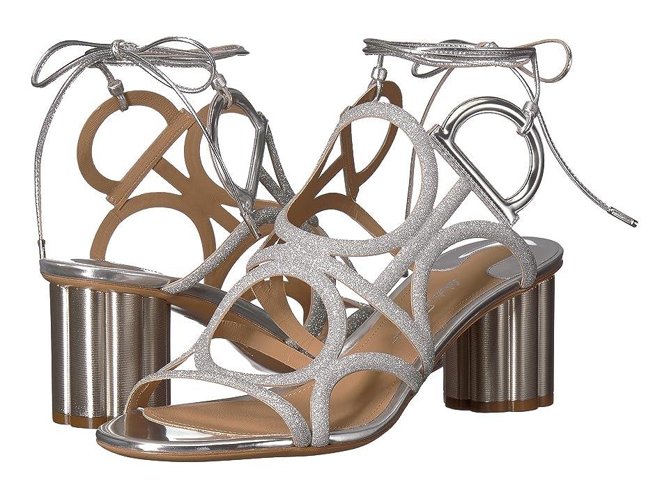 Salvatore Ferragamo Vinci 55 (Argento) High Heels