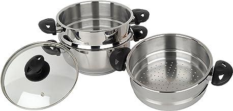 Stainless Steel Collection Pendeford - Set de 3 vaporeras