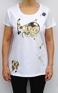 Camiseta mujer Diseño Kandinsky