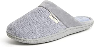 Dearfoams Chenille Clog with Quilted Sock womens Slipper