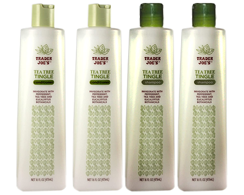 Trader Cheap bargain Joe's Tea Tree Shampoo Moisturizing Tingle Conditioner Translated