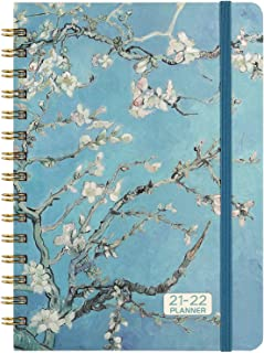 """2020 Planner - 2020 Weekly & Monthly Planner Jan - Dec with Flexible Hardcover, 8.46"""" x 6.37"""", Strong Twin- Wire Binding, ..."""