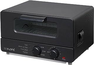 トレードワン 『chef』 スチームトースター ブラック ST-70091(BK)