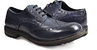 Dress Shoes Antique Blue 100% Leather