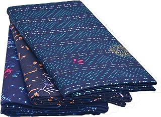 JISB Men's Cotton Printed color Lungi, 3 piece pack