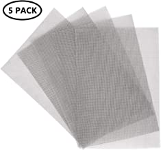 KONIBN 5pcs Stainless Steel Woven Wire 20 Mesh - A4 12