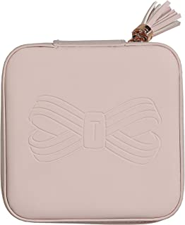 Ted Baker Zipped Jewellery Case Pink Storage