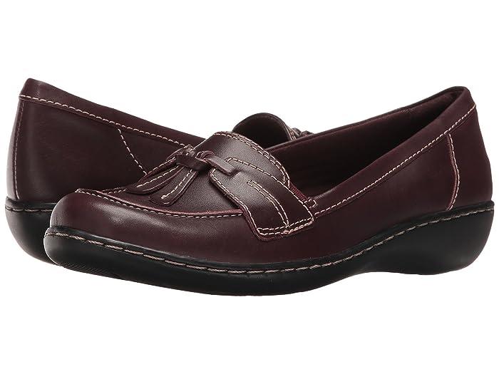Clarks  Ashland Bubble (Burgundy) Womens Slip on  Shoes