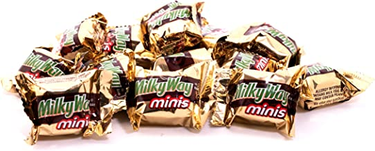 Milky Way Milk Chocolate Caramel Minis - 2 LB Resealable Stand Up Storage Bag - Individually Wrapped Chocolates - Bulk Mil...