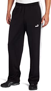 Men's Agile Track Pants Black 818291 66 Size Small
