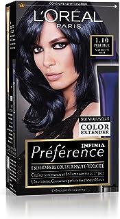 L 'Oréal Paris Préférence - Coloración permanente, negro abis napoli