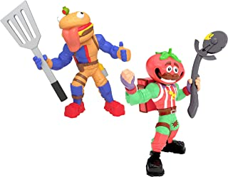 Fortnite Battle Royale Collection: Tomatohead & Beef Boss - 2 Pack of Action Figures