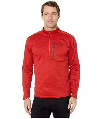 The North Face Canyonlands 1/2 Zip (Pompeian Red Heather) Men