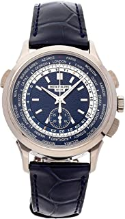 Patek Philippe Complications Mechanical (Automatic) Blue Dial Mens Watch 5930G-001 (Certified Pre-Owned)