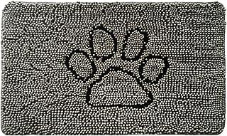 Gorilla Grip Original Indoor Durable Chenille Doormat, 48x30, Absorbent Machine Wash Inside Mats, Low-Profile Rug Doormats...