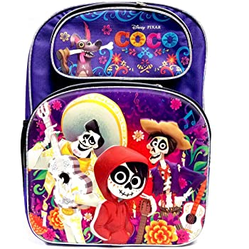 COCO 16 Full Size Backpack Music Land A16489 Disney-Pixar