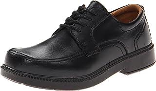 (12 UK, Black (Black)) - Florsheim Boys Billings Junior Oxford
