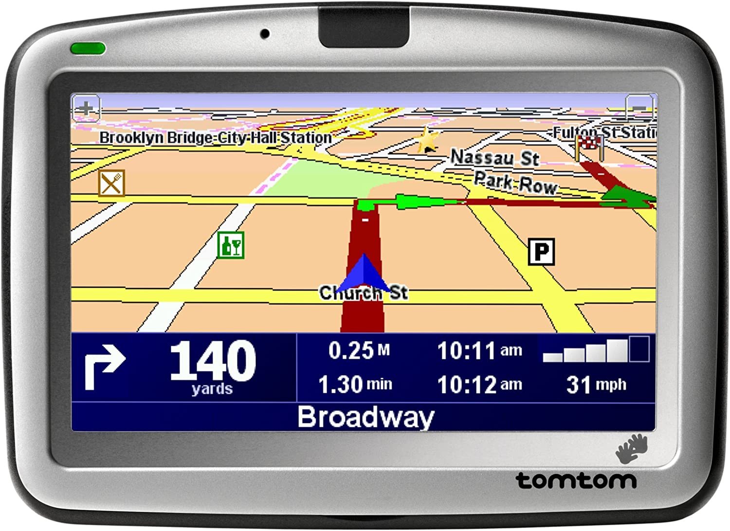 TomTom GO 510 4-Inch Bluetooth Portable GPS Navigator (Discontinued by Manufacturer)