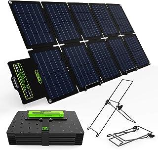 TP-solar 60W Portable Foldable Solar Panel Charger Kit Dual USB 5V + 18V DC Output for Portable Generator Power Station Ce...