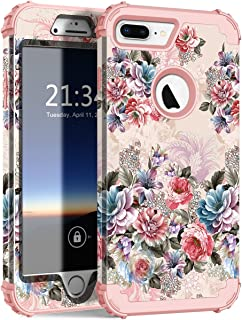 iPhone 7 Plus Case, Hocase Drop Protection Shock Absorbing Silicone Bumper+Hard Shell Hybrid Dual Layer Full-Body Protective Case for Apple iPhone 7 Plus 5.5