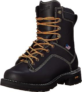حذاء عمل Danner رجالي باللون الأسود مقاس 20.32 سم