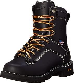 Men's Quarry USA Black Work Boot - 8-Inch