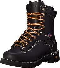 Danner Men's Quarry USA Black Work Boot - 8-Inch