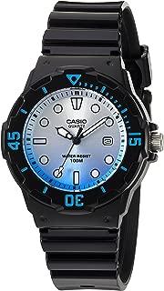 Casio Women's 'Dive Series' Quartz Resin Casual Watch, Color:Black (Model: LRW-200H-2EVCR)